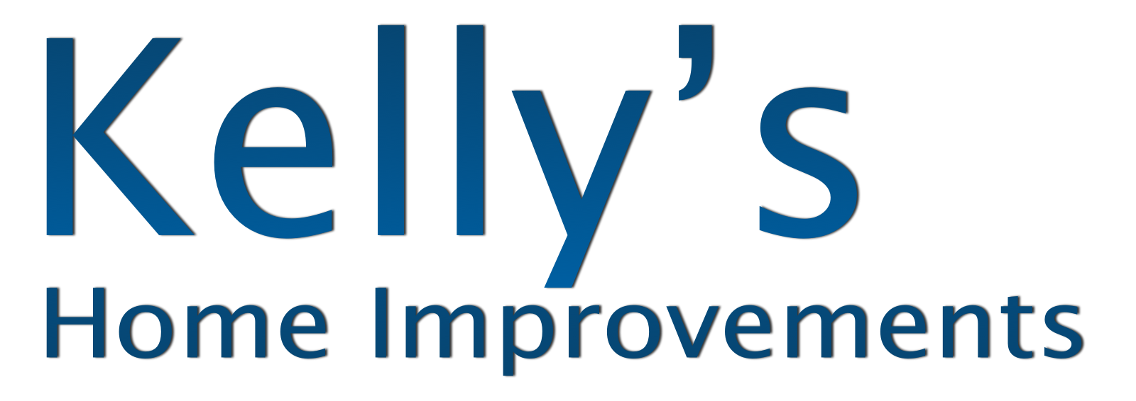 Kelly's Home Improvements logo in blue